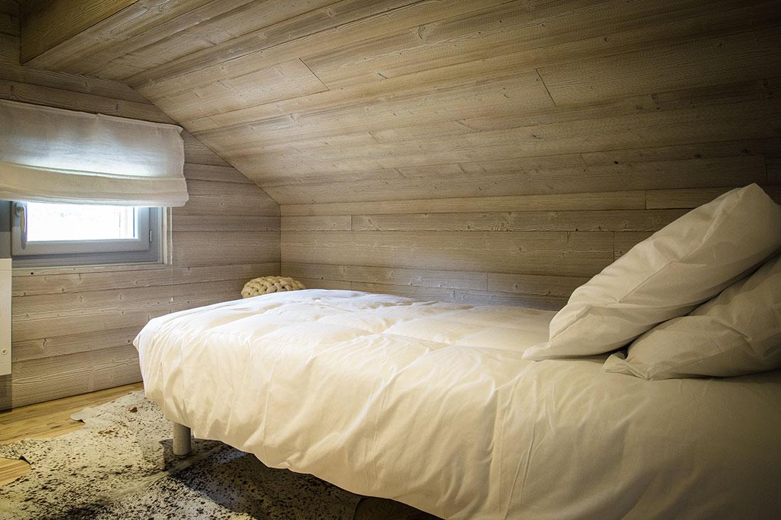 Chambre gite chalet bois location Jura