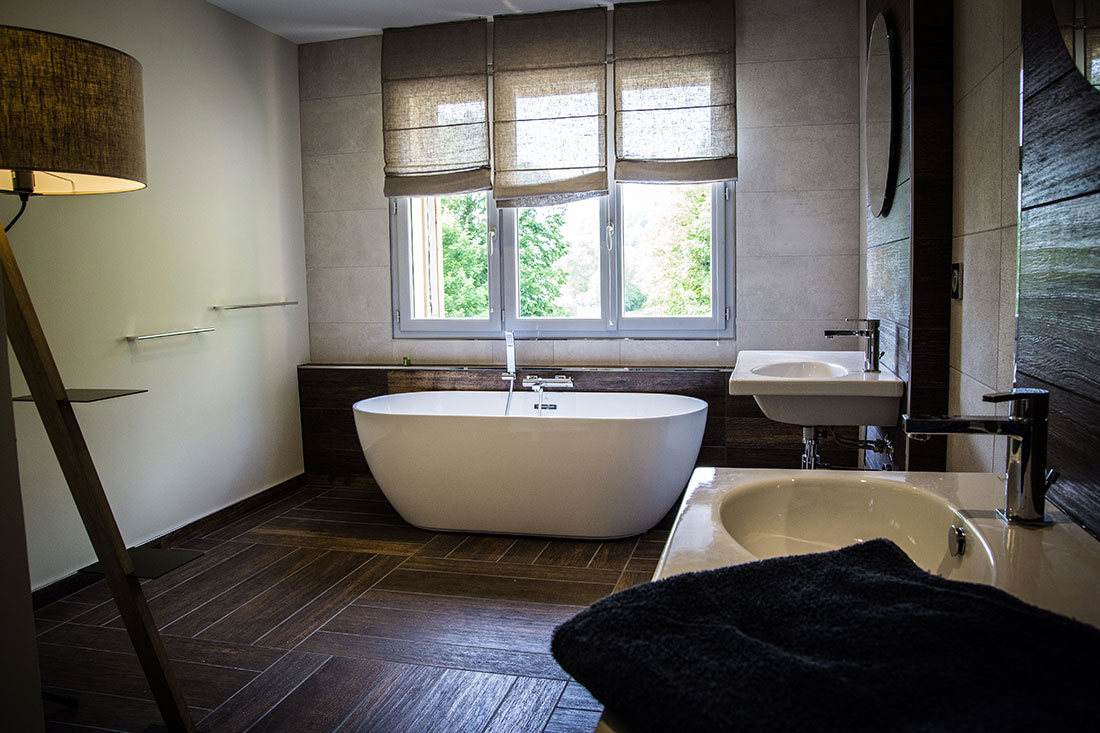 Salle de bains du gite de Chambly