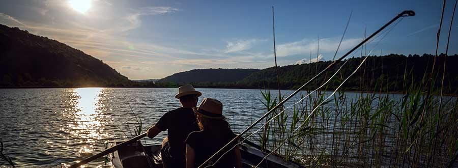 Pêche en lac dans le Jura, Lac de Chambly